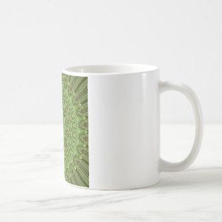 Green Anemone Mandala 3 Coffee Mug