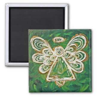 Green Angel Art Custom Magnet Gifts