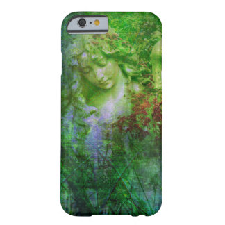 Green Angel Statue Fairy Garden Phone Case Barely There iPhone 6 Case
