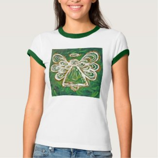 Green Angel T-shirt (Image on Front)
