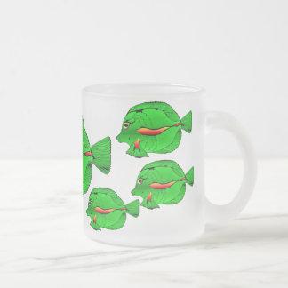 Green Angelfish Frosted 10 oz  Mug