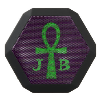 Green Ankh Black Bluetooth Speaker