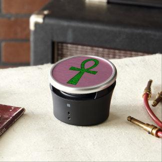 Green Ankh Bluetooth Speaker