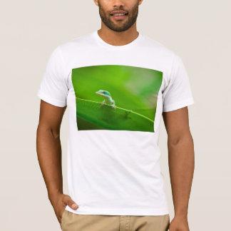 Green Anole Lizard Encounter Cute T-Shirt