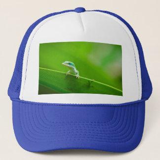 Green Anole Lizard Encounter Cute Trucker Hat
