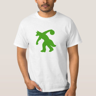 Green Anthropomorphic Canine Bowling Shirt 0001
