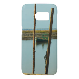 Green Apalachicola Oyster Boat Photograph Samsung Galaxy S7 Case
