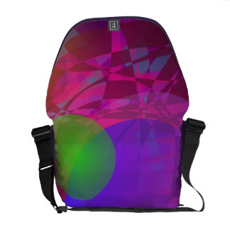 Green Apple and Dark Energy Messenger Bags