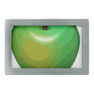 Green apple belt buckle
