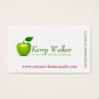 Green Apple Business Card
