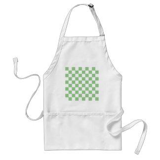 Green Apple Checkerboard Apron
