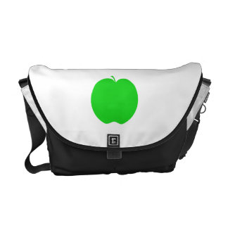 Green Apple. Courier Bags