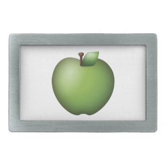 Green Apple - Emoji Belt Buckle