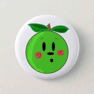 Green Apple Face Button
