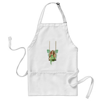 Green Apple Fairy Adult Apron