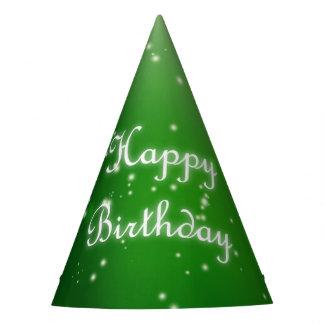 Green Apple Fairy Birthday Party Hat