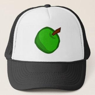 Green Apple Fruit Trucker Hat