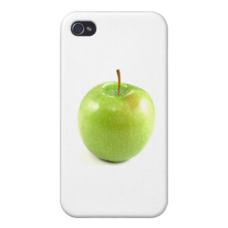Green Apple Case For iPhone 4