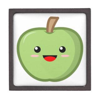 Green Apple Jewelry Box