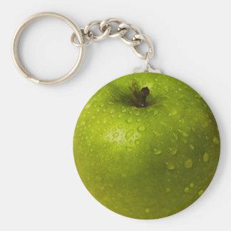 Green apple keychain