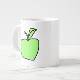 Green Apple. Large Coffee Mug