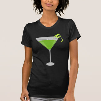 Green Apple Martini T Shirts
