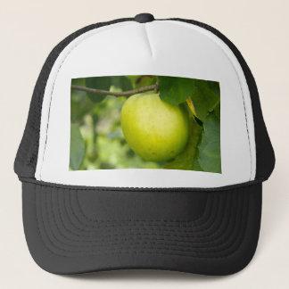 Green Apple on a Tree Branch Trucker Hat