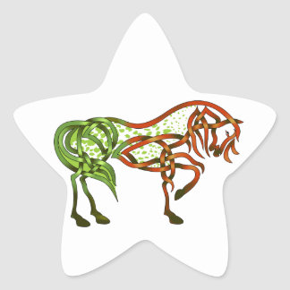Green Apple-oosa Star Sticker