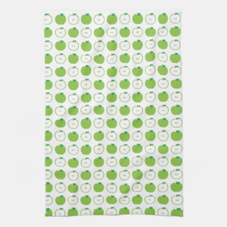 Green Apple Pattern Kitchen Towel