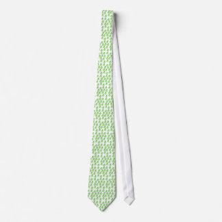 Green Apple Pattern. Neck Tie