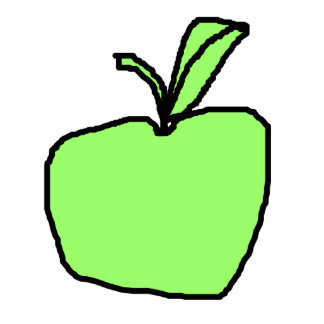 Green Apple. Cut Outs