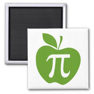 Green Apple Pi Magnet