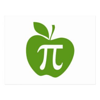 Green Apple Pi Postcard