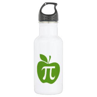 Green Apple Pi Stainless Steel Water Bottle