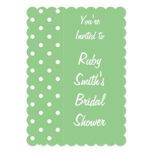 light green white polka dots gifts on zazzle