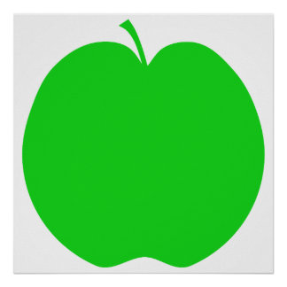 Green Apple. Poster