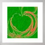 Green Apple Poster