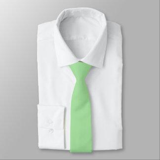 Green Apple Solid Color Necktie