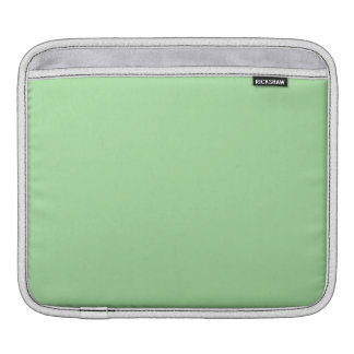 Green Apple Solid Color Sleeves For iPads