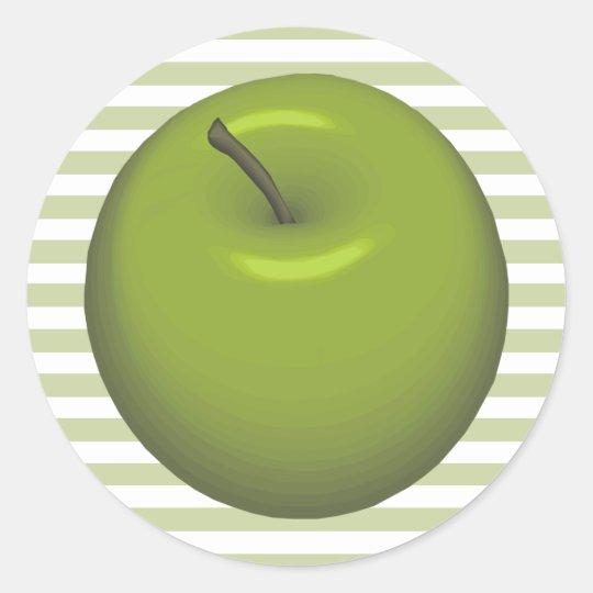 Green Apple Stickers