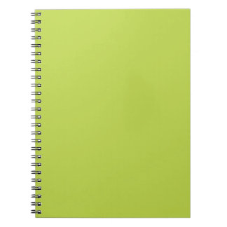 Green Apple. Tender Shoots - Fashion Color Trends Note Book