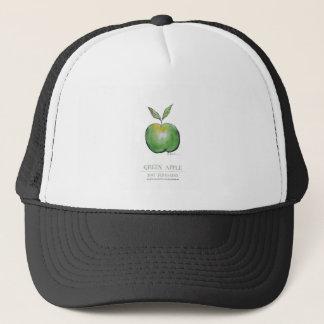 green apple, tony fernandes trucker hat