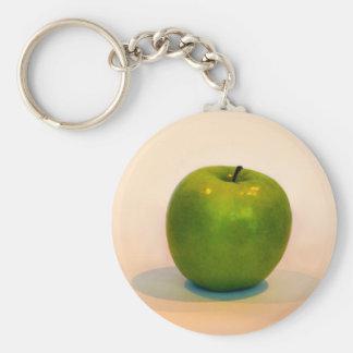 Green Apple Trio Keychain