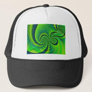 GREEN APPLE TWIST TRUCKER HAT