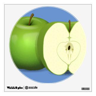 Green apple Walls 360 Custom Wall Decal