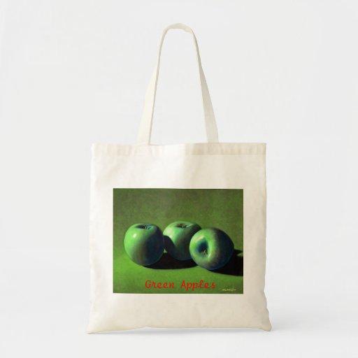 Green Apples Bag