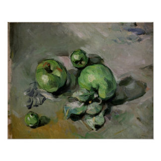 Green Apples, c.1872-73 Poster