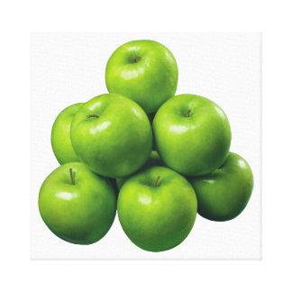 Green Apples Canvas Print