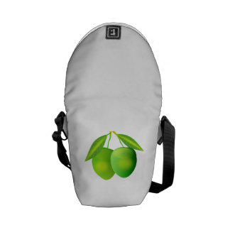 Green Apples Courier Bags