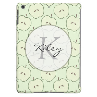 Green Apples Fruit Pattern iPad Air Cases